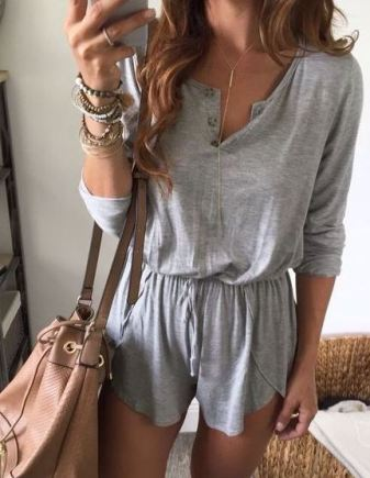 Comfy rompers make awesome casual summer outfits!