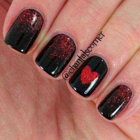 20 amazing valentine's day nails looks  society19