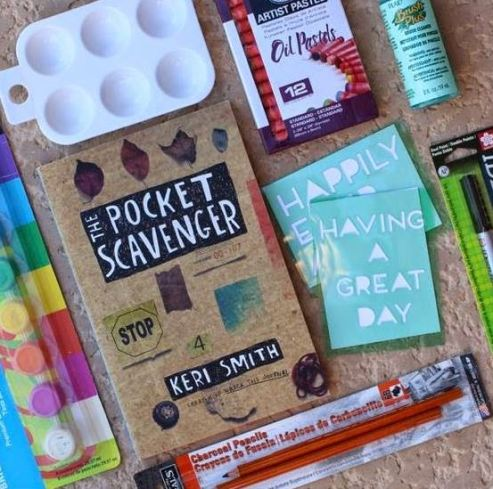 The Pocket Scavenger is one of the best journals you can buy on Amazon!