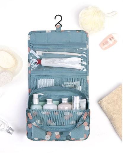 Using travel compartment bags is a great tip for how to pack for spring break in a carry on!