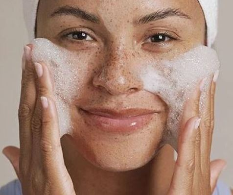 Use a mild cleanser in the colder months!