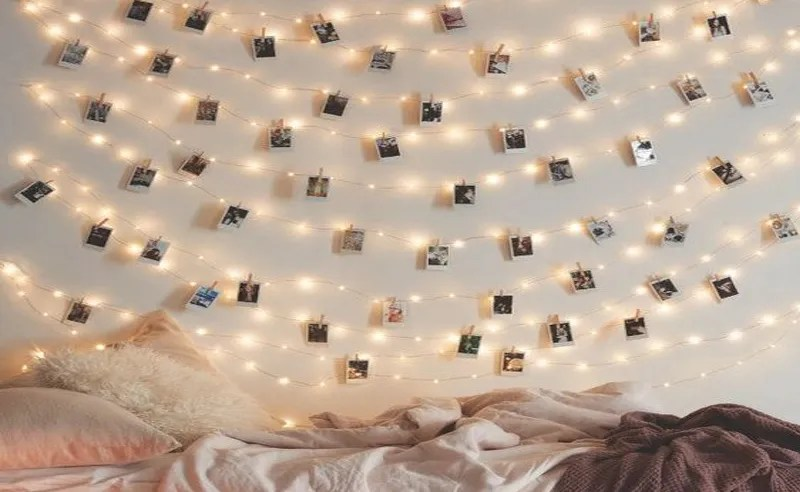 Looking for different ways to decorate your dorm room with lights without going overboard? These ideas are perfect ways to do just that!