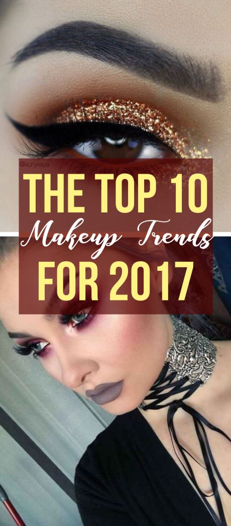 These are the top 10 makeup trends you need for 2017!