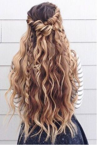 If you love wearing your hair down, try braids for one of the top hairstyle trends!