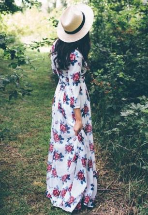 Floral dresses are cheap dresses that are perfect for the spring!
