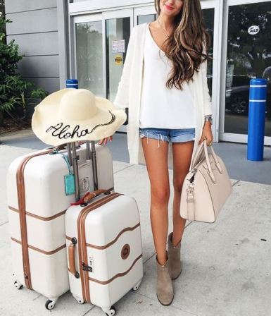 Customize your bags for cute ways to personalize your luggage!