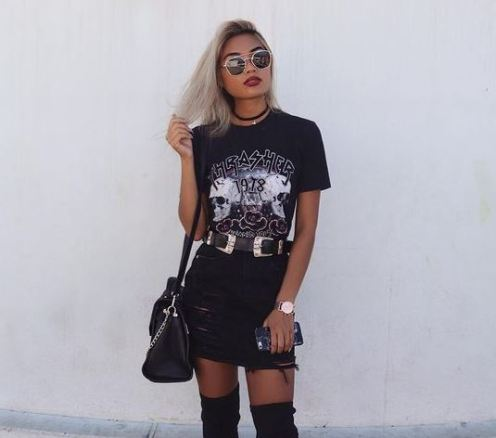 20 Cool And Edgy Outfits For Going Out - Society19