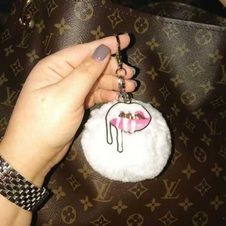 Fur keychains are easy accessories for ways to look like a million bucks!