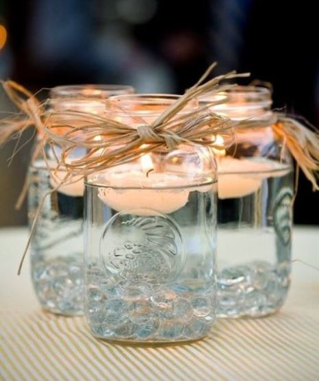 Battery tealights are a cute and easy way to decorate your dorm room on a budget!
