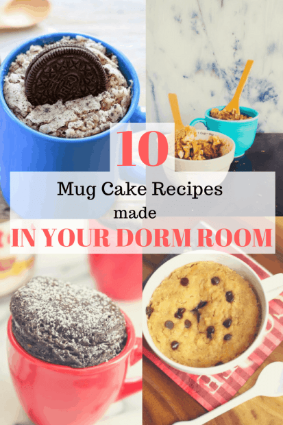 10 Drool-Worthy Mug Cake Recipes You Can Make In Your Dorm