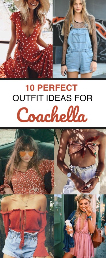 10 Perfect Outfit Ideas For Coachella