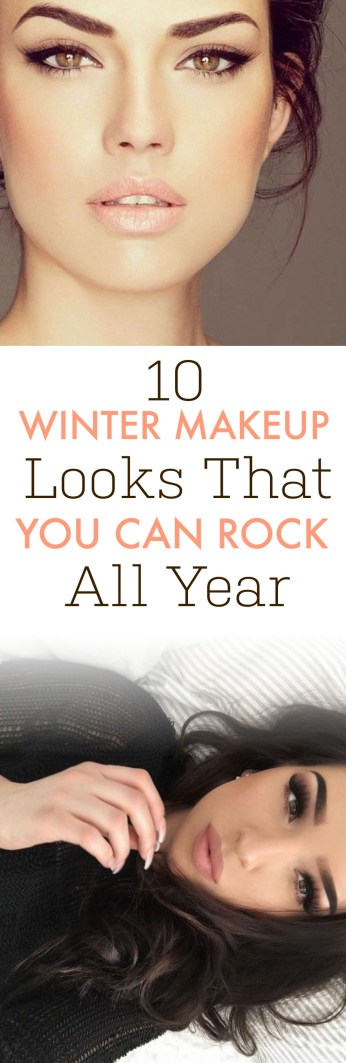These are the best winter makeup looks that you can wear year round!