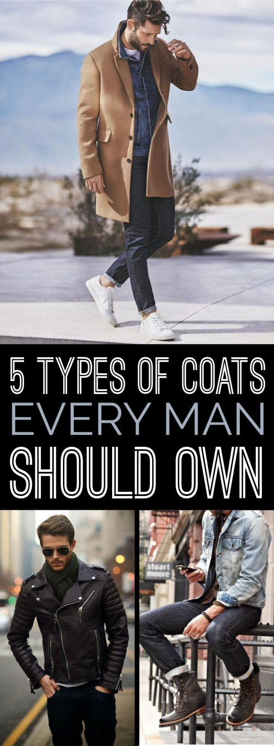 These are the best coat outfits that all men should own!