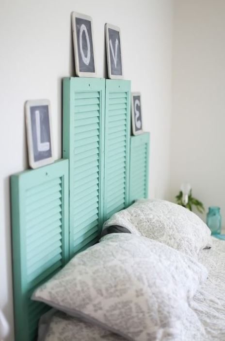 DIY headboards are great ways to make your bedroom cozy!