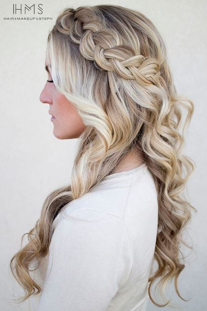 50 Gorgeous Prom Hairstyles For Long Hair , Society19