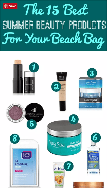 These are the 15 Best Summer Beauty Products For Your Beach Bag