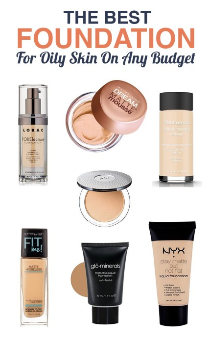 This is the best foundation for those of you with oily skin and on a budget!