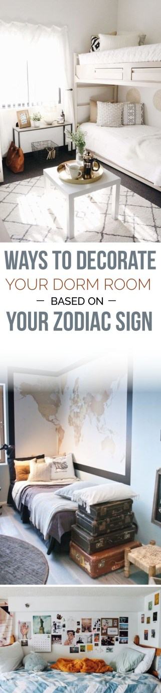 Decorate your dorm based on your zodiac sign here!