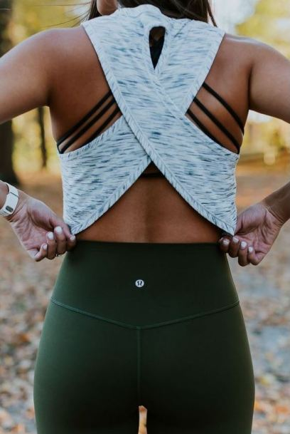 These back details are great for gym outfits!