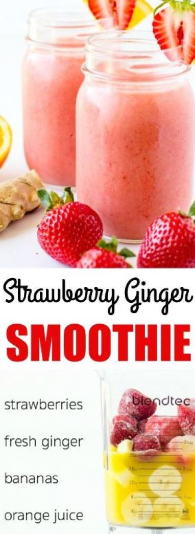 These ginger smoothie recipes are perfect for post-workout!