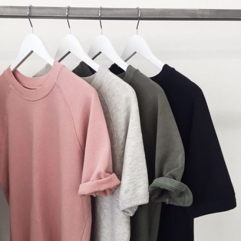 Plain tees are great for back to school!