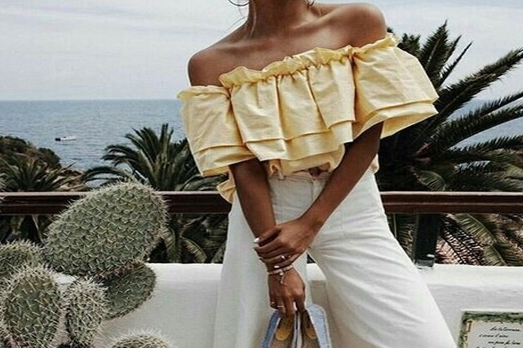 Off the shoulder tops have become super popular and need to be the newest addition to your closet. Here are 20 tops to fall in love with!