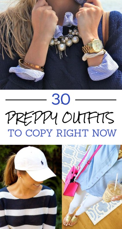 These the preppy outfits you need to copy!