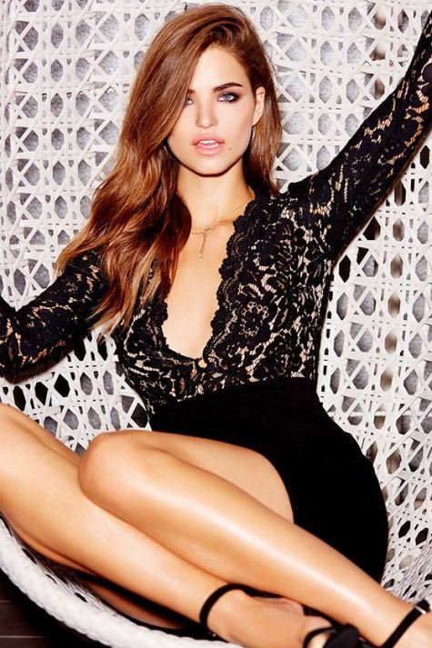 Long sleeve lace dresses are perfect sexy club dresses!