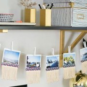 Why go out and spend hundreds of dollars on dorm decor when you can do it yourself? With a little time and effort, you can make any of this DIY dorm decor!