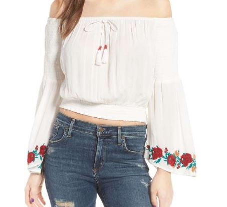 20 Gorgeous Off The Shoulder Tops You Need Right Now