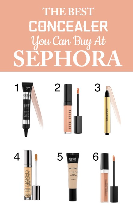 These are the best concealers from Sephora!