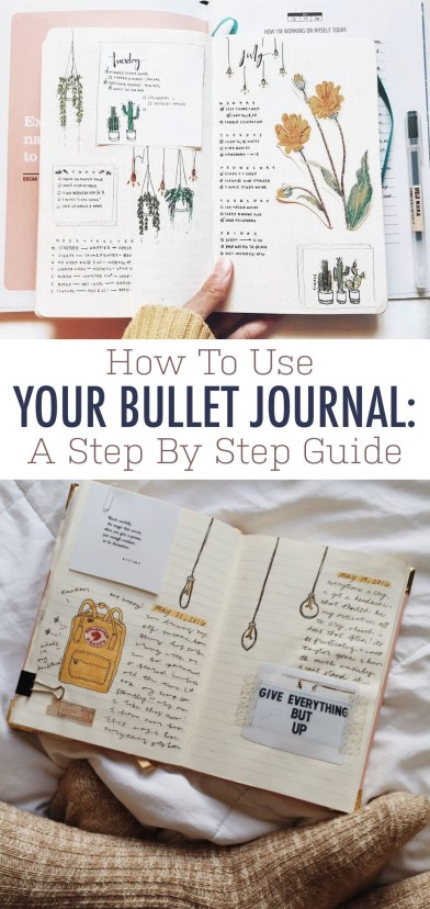 These are the best ways to use your bullet journal!