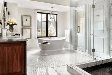 Lets be real, plastic shower curtains and mom's old towels aren't cutting it anymore. These are the essential things from amazon you need for your bathroom!