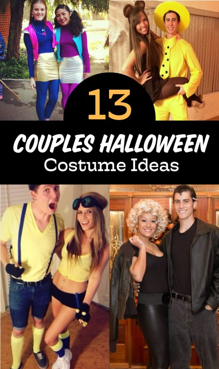 These couples halloween costumes are your guide for this upcoming halloween!