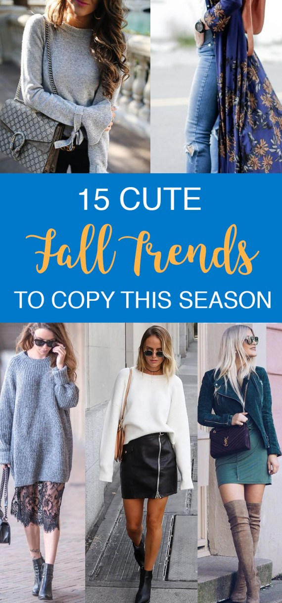 These are the cutest fall trends you need to copy!