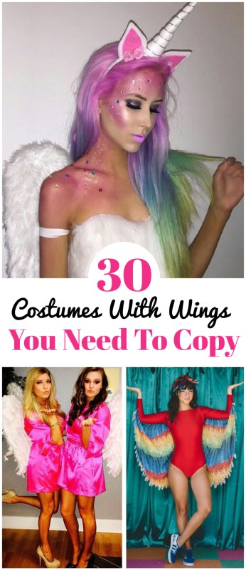 These are the best costumes with wings that you NEED to copy!