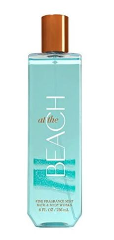 Body sprays are one of my favorite beach beauty essentials! Keeps you feeling clean and refreshed!