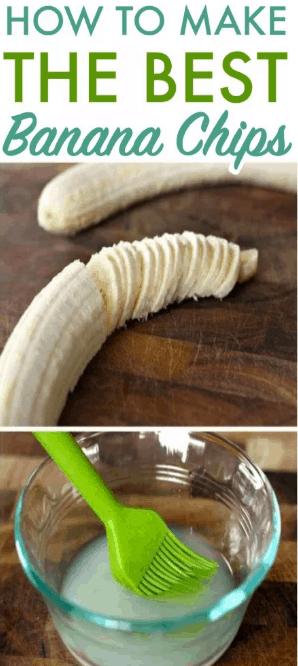 This is How To Make The Best Baked Banana Chips