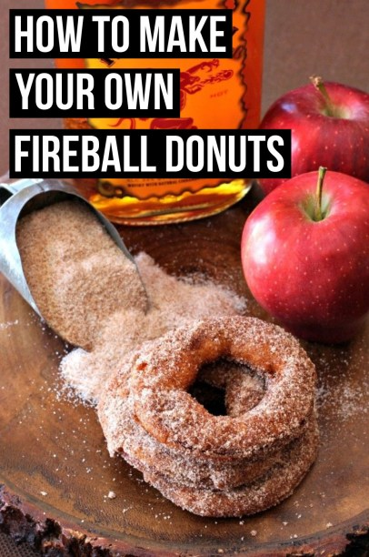 Try out this fireball donut recipe!!