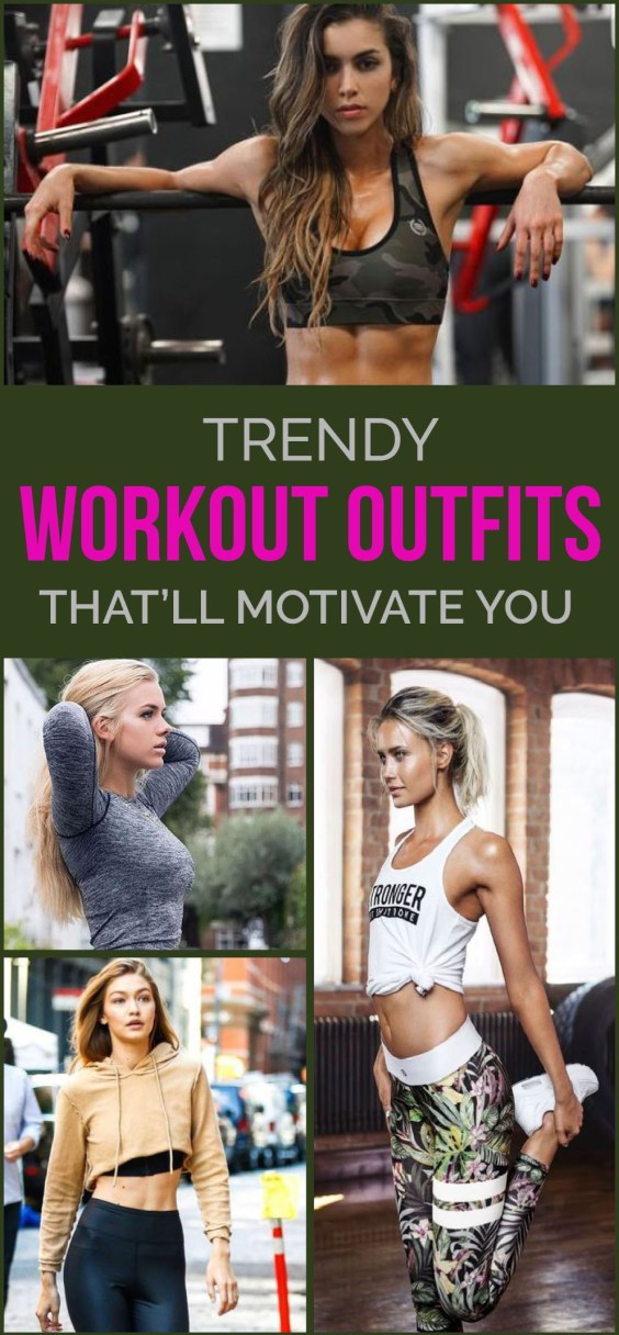 These workout outfits will for sure motivate you the next time you want to skip a workout!