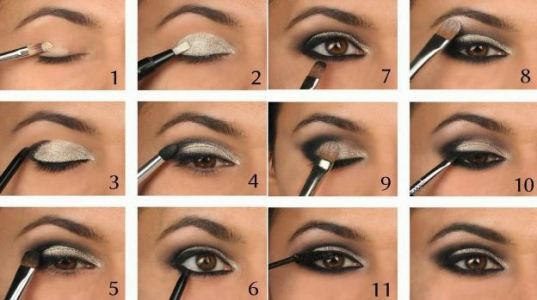 These cut crease eye makeup look is super easy to do1
