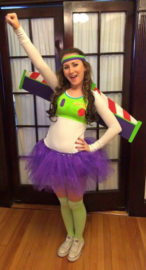 Buzz Lightyear costume!