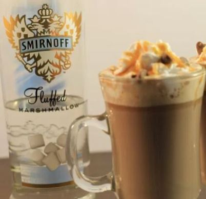 Easy spiked hot chocolate recipe!