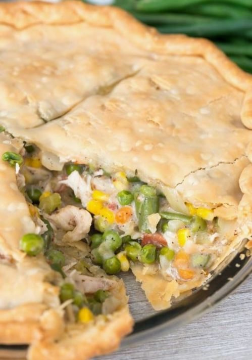This turkey pot pie is a great Thanksgiving leftovers recipe!