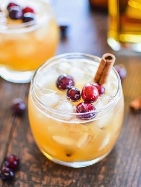 These apple and pumpkin beer cocktails are the perfect fall cocktail recipe!