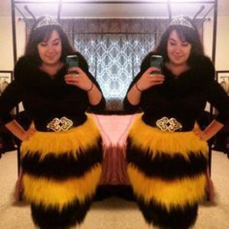 Queen bee wing costume!