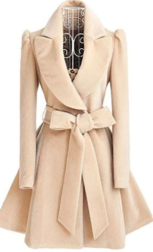 This is one of my favorite cute and affordable coats and jackets!