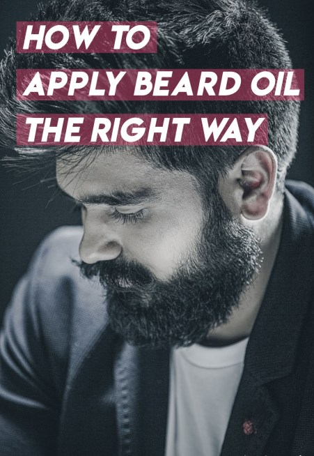 This is how you apply beard oil the right way