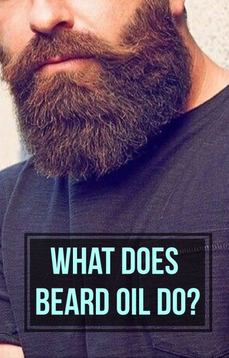 Here is what beard oil does!