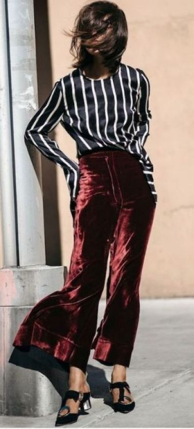 Crushed velvet is one of my favorite fashion trends! It goes with every outfit!